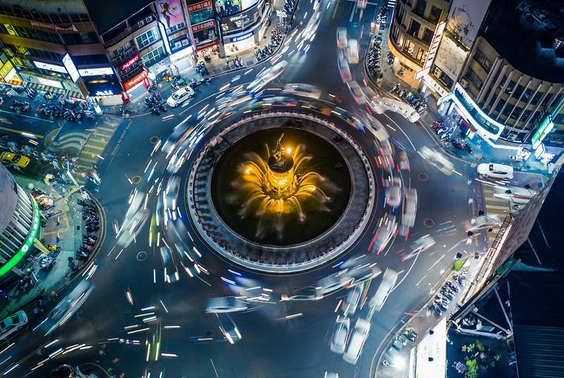 嘉義噴水圓環|Chiayi