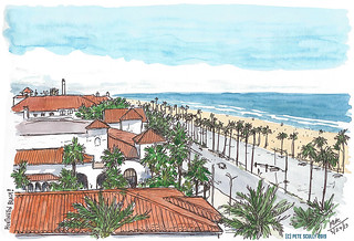 Huntington Beach view from hotel | by petescully