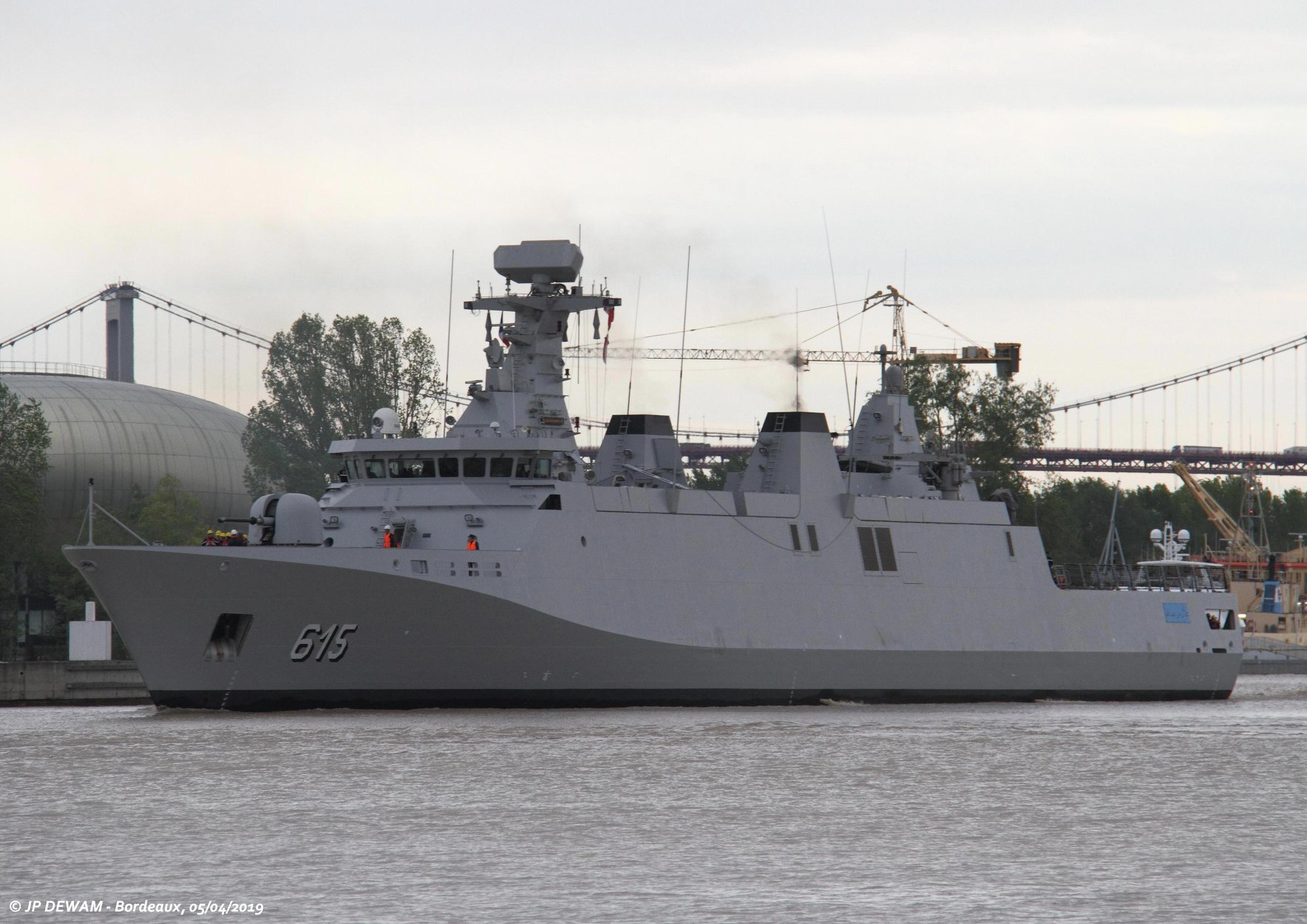 Royal Moroccan Navy Sigma class frigates / Frégates marocaines multimissions Sigma - Page 25 46635900035_d2e93997b7_o