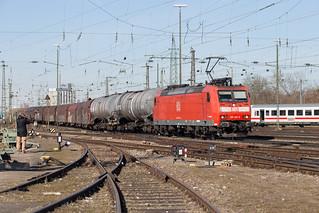 DB Cargo 185 136 Basel Bad | by daveymills37886