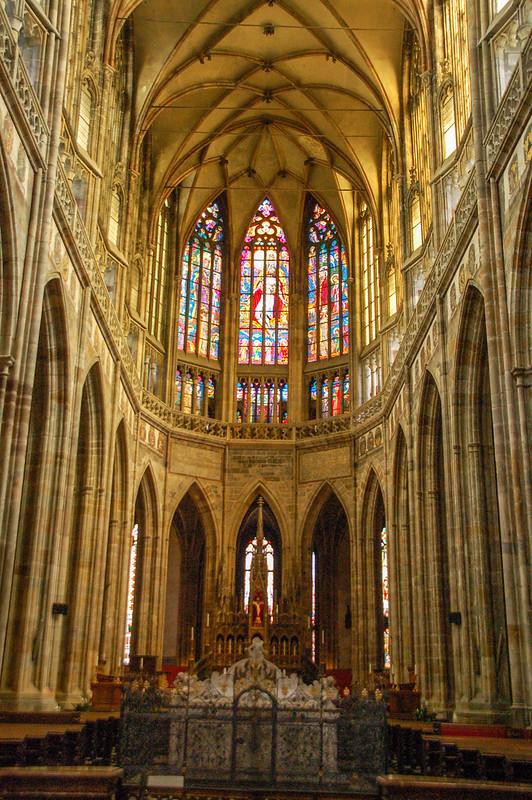 聖維特教堂哥德式拱頂