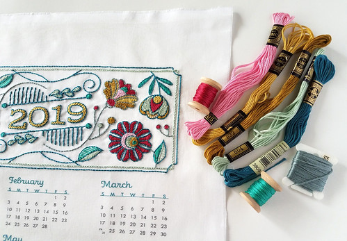 Finished SeptemberHouse calendar   by floresita