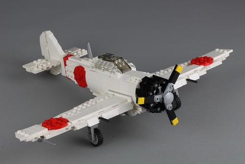 Mitsubishi A6M Zero by Peter Blackert