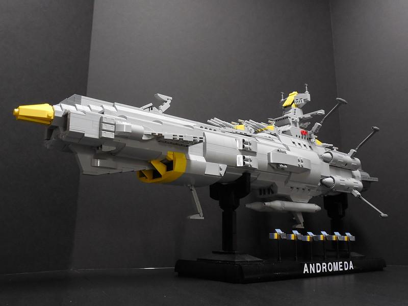 Space Battleship Andromeda 002