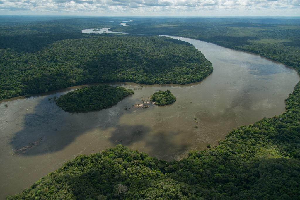 Juruena River, Amazonia, Brazil © Zig Koch / WWF