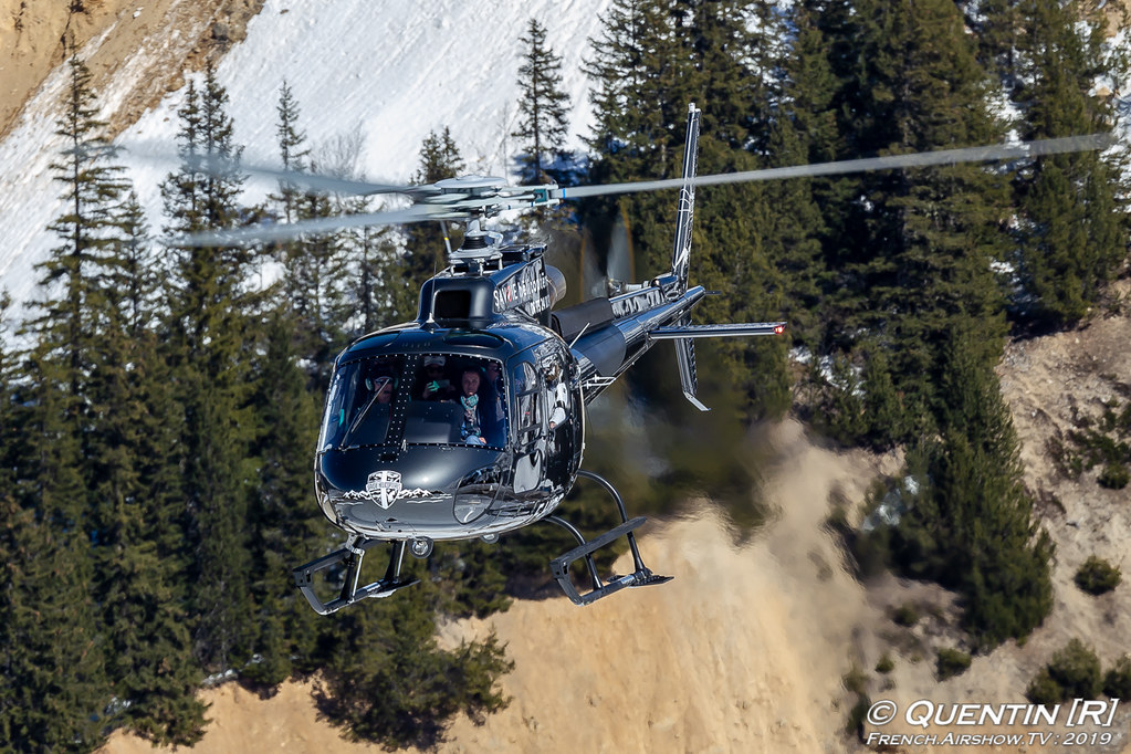 Airbus Helicopters AS350 F-HIRE Savoie Fly Courchevel Canon Sigma France French Airshow TV photography Airshow Meeting Aerien 2019