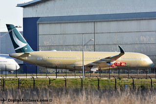 F-WZGL / B-LQA A350‑941 324 Cathay Pacific   by DigitalAirliners.com