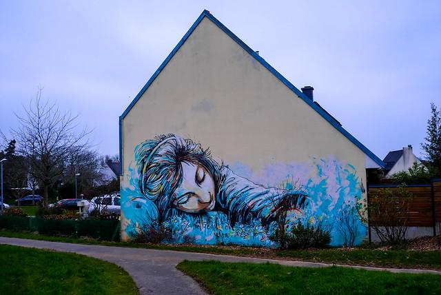 France - Brest - Alice Pasquini's work