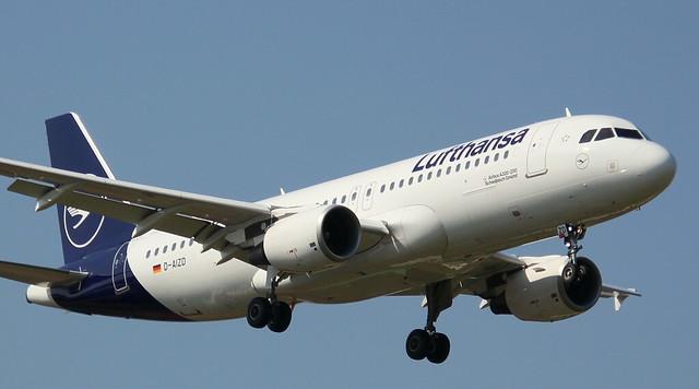 Lufthansa, D-AIZD, MSN 4191, Airbus A 320-214, 07.04.2019,  HAM-EDDH, Hamburg (Named: Schwäbisch Gmünd)