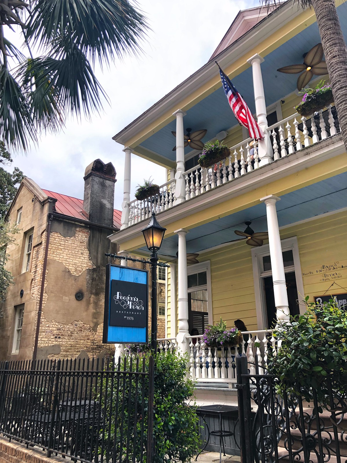 Poogan's Porch Restaurant | Where to Eat in Charleston | Best Food in Charleston | First Timer's Guide to 3 Days in Charleston South Carolina | What to do in Charleston | Charleston Travel Guide | Best Things to do in Charleston | Best Places to visit in Charleston