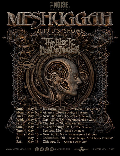 Meshuggah at Fillmore Silver Spring