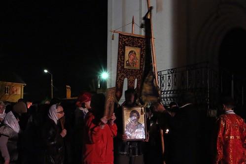 Пасхальное Богослужение в Свято-Никольском храме станицы Кавказской IMG_1220
