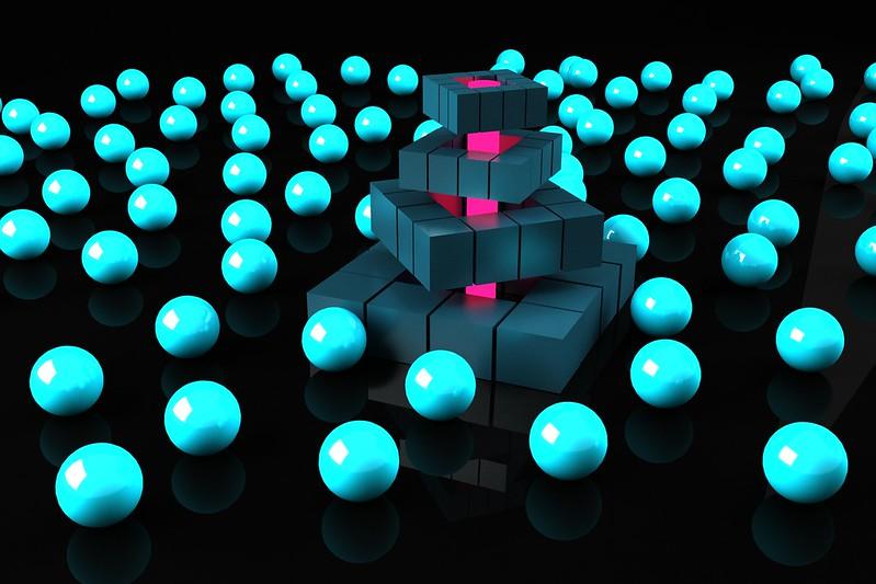 Обои квадраты, шары, сферы, формы картинки на рабочий стол, фото скачать бесплатно