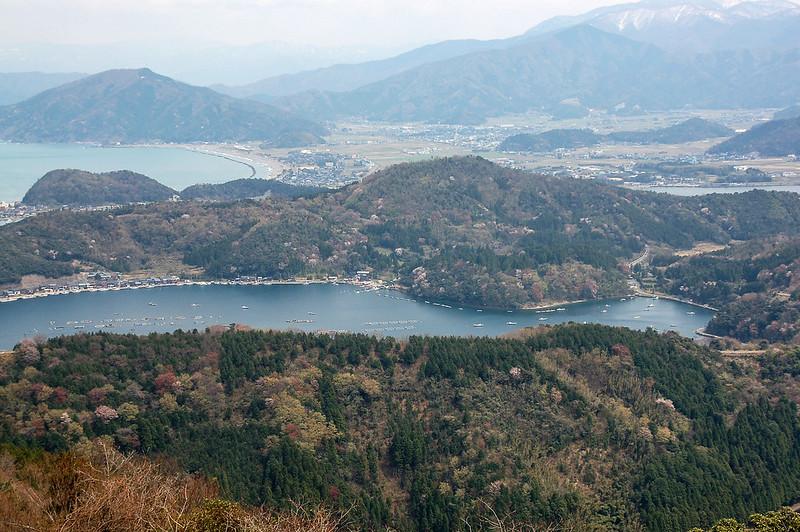 梅丈岳俯瞰日向湖 (3)