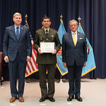 Fri, 03/29/2019 - 14:26 - On Friday, March 29, 2019, the William J. Perry Center for Hemispheric Defense Studies hosted a graduation ceremony for two courses: 'Strategic Implications of Human Rights and Rule of Law' and 'Combating Transnational Threat Networks.' Students from all over the Americas attended the courses from March 18-29, 2019. The graduation ceremony and reception took place in Lincoln Hall at the National Defense University's North Campus at Fort McNair in Washington, DC.