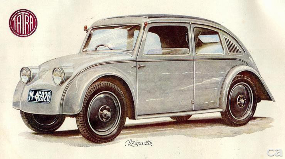 1931, Tatra built the V570 prototype