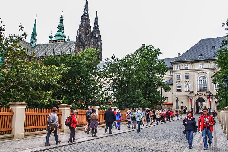 布拉格城堡北面入口
