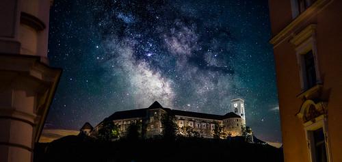 Ilussion of Ljubljana Castle