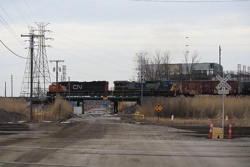 CN 5612 - Kirk Yard - Gary, IN   by tcamp7837