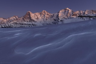 Blue hour - Eiger Mönch and Jungfrau | by Captures.ch