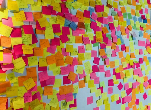 Mega Post-it Wall | by Teppo K.