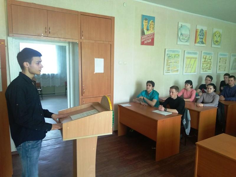 Встреча кандидатов в Молодежный Парламент при Народном Совете Луганской Народной Республик со студенческой молодежью