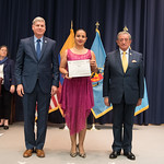 Vi, 03/29/2019 - 14:37 - On Friday, March 29, 2019, the William J. Perry Center for Hemispheric Defense Studies hosted a graduation ceremony for two courses: 'Strategic Implications of Human Rights and Rule of Law' and 'Combating Transnational Threat Networks.' Students from all over the Americas attended the courses from March 18-29, 2019. The graduation ceremony and reception took place in Lincoln Hall at the National Defense University's North Campus at Fort McNair in Washington, DC.
