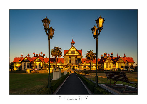 dominicscott newzealand rotorua museum sunset sony sel1635gm ilce7rm3 a7rm3 gmaster manfrotto