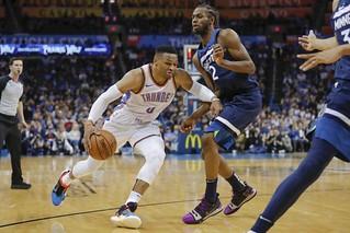 Oklahoma City Thunder vs Minnesota Timberwolves – Jan 08, 2019 | by highlightstore
