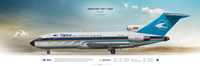 Boeing 727-100 TAME