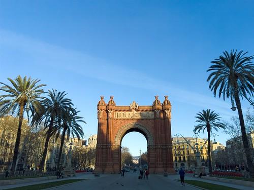 Arco de Triunfo de Barcelona | by elmada