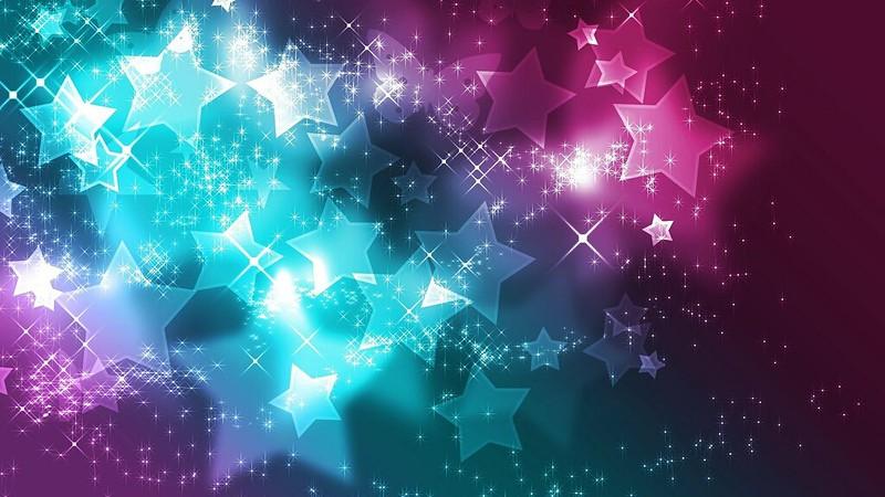Обои звезды, фон, блеск, красочный, блестки картинки на рабочий стол, фото скачать бесплатно