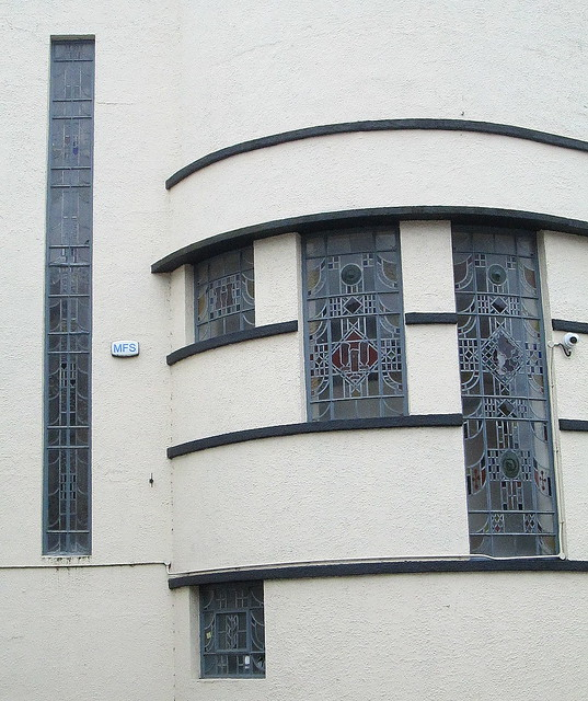 Art Deco Window Arrangement