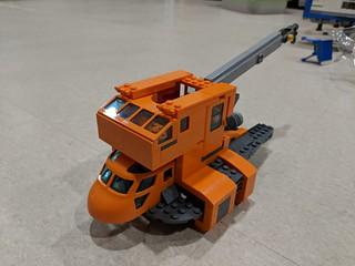 Space Repair Garage Tow Truck - WIP   by Ninja_Bait
