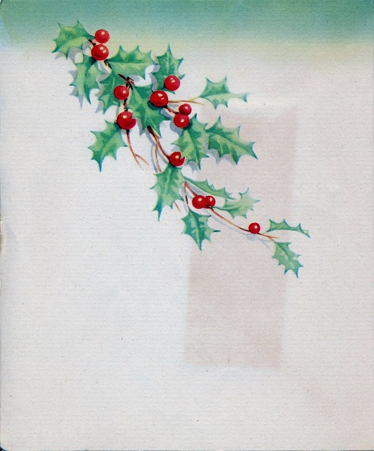 1943 World War II Christmas Card