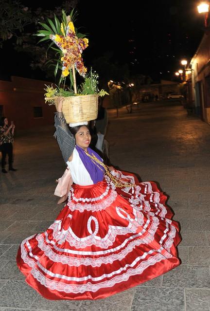 China Oaxaquena Dancer Mexico