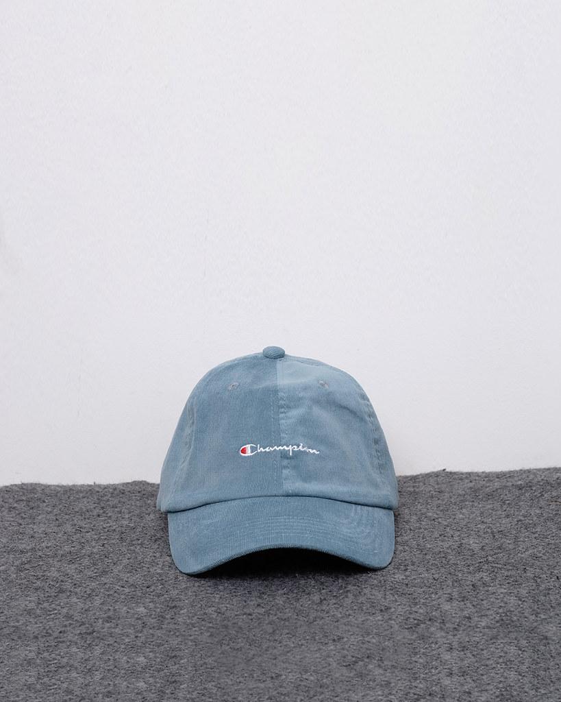 79b119020e ... 61532 - 125K - Champion Classic Twill Strapback Dad Hat hijau