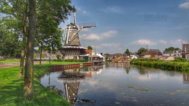 Flour Mill De Hoop, Bunschoten Spakenburg, Netherlands - 2681