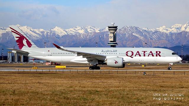 A7-ALW Qatar Airways Airbus A350-941