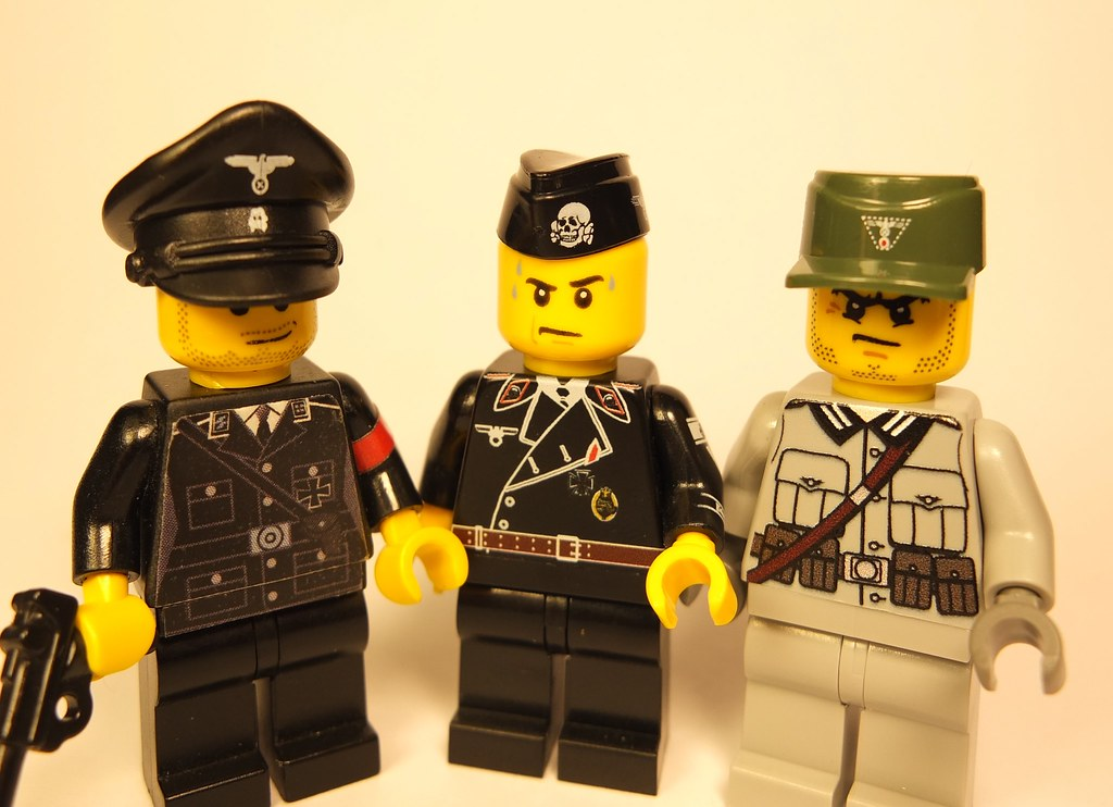 New WW2 German headgear by Brickssoldier | New WW2 headgear