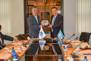 Working Visit to ECO | by Cooperation Council of Turkic Speaking States