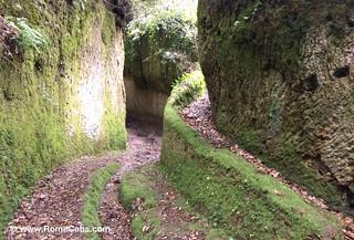 Vie Cave passageways | by Rome Cabs