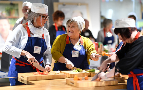 Tesco Community Cookery School with Jamie Oliver Teaching over 1,000 community cooks how to stop good food going to waste | by Tesco PLC