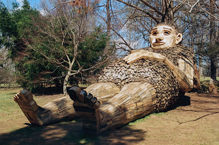 The giants at Bernheim Forest | by Jim Grey