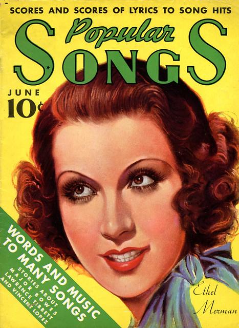 The young Ethel Merman (1936)