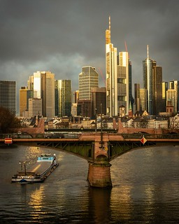 Golden Frankfurt Morning