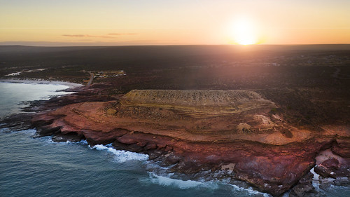 rock western australia dji drone mavic 2 kalbarri red bluff