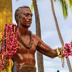 Statue of Duke Kahanamoku, Waikiki Beach