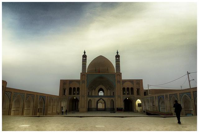 Mezquita de Agha Bozorg.