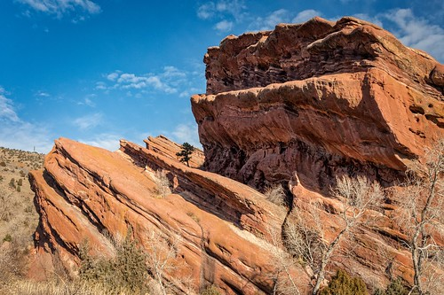 colorado unitedstates us landscape redrocks denver